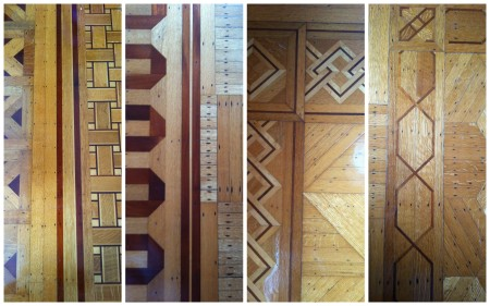 Some of the most intricate and handmade parquet wood flooring in the world.